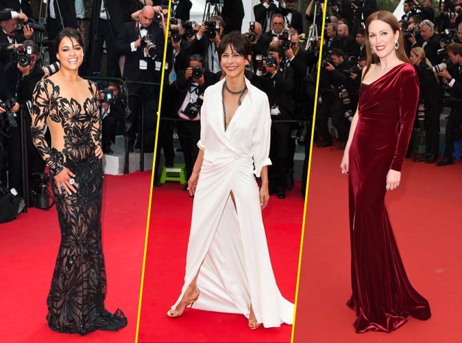 Cannes 2015 : Michelle Rodriguez, Sophie Marceau, Julianne Moore... Trois dr�les de dames et une culotte d�voil�e !