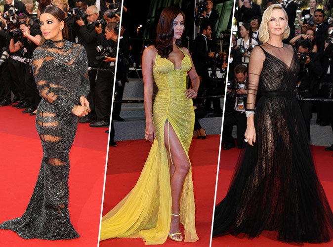 Cannes 2017 : Eva Longoria, Irina Shayk, Charlize Theron... Tous les plus beaux looks du tapis rouge !