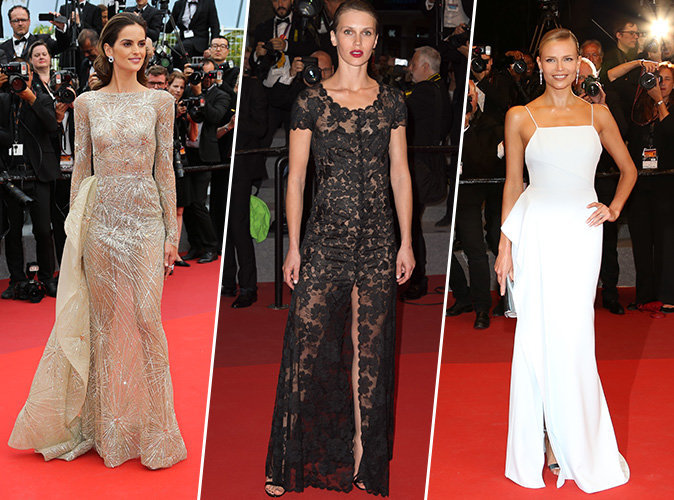 Cannes 2017 : Izabel Goulart, Marine Vacth, Natasha Poly... Tous les plus beaux looks du tapis rouge !