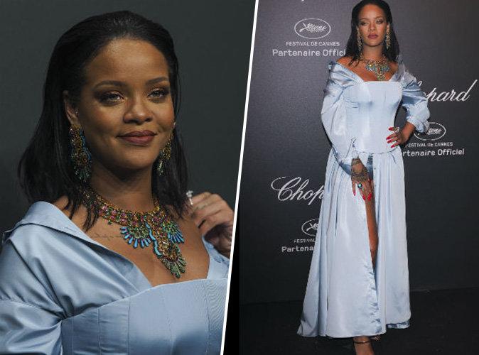 Cannes 2017 : Rihanna, une reine en Chopard pour sa nuit culottée au Festival !