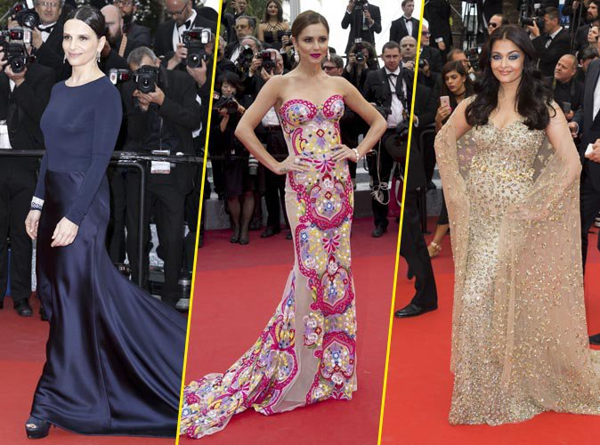 Cannes 2016 : Cheryl Cole, Juliette Binoche et Aishwarya Rai époustouflantes pour