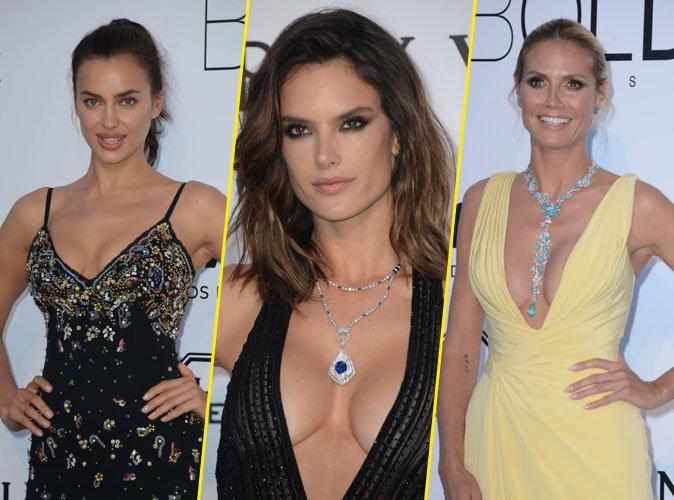 Cannes 2016 : Irina Shayk, Alessandra Ambrosio, Heidi Klum : les décolletés vertigineux de l'amfAR !