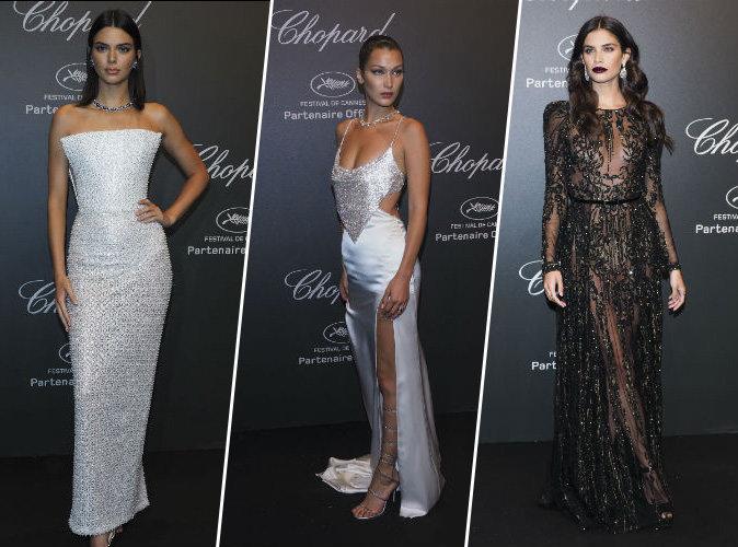 Cannes 2017 : Kendall Jenner, Bella Hadid, Sara Sampaio... les bombes de la soirée