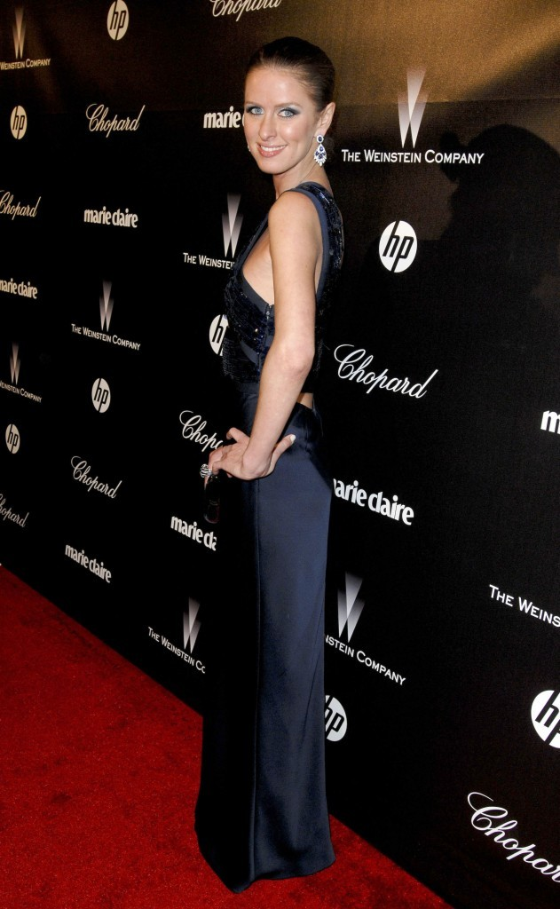Nicky Hilton lors de l'after-party des Golden Globes, le 15 janvier 2012.