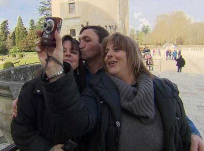 Photos : le bisou de Jean-Michel à Nathalie