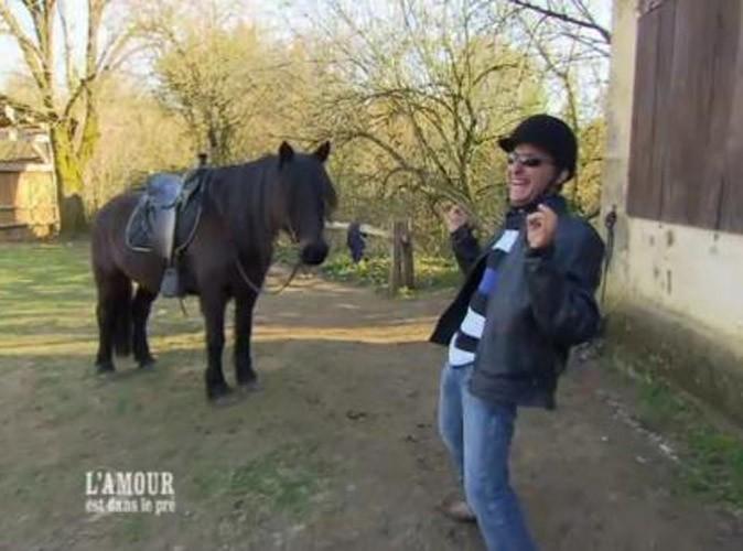 Photos : Philippe va faire de l'équitation pour faire plaisir à Nina !