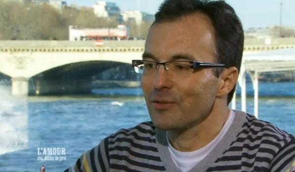Laurent, conducteur de train du Havre très bavard.