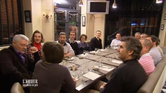 Le dîner de présentation où tous les candidats se sont rencontrés