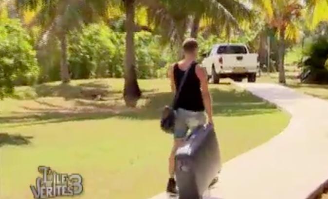 Jeremstar quitte l'île