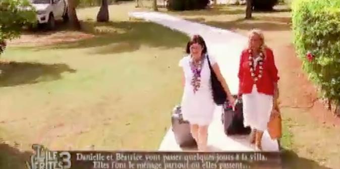 Béatrice et Danielle de C'est du propre arrivent