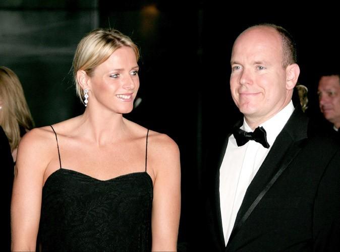 Charlene et le prince Albert se rendent ensemble au Grand prix de F1 à Monaco, 2006