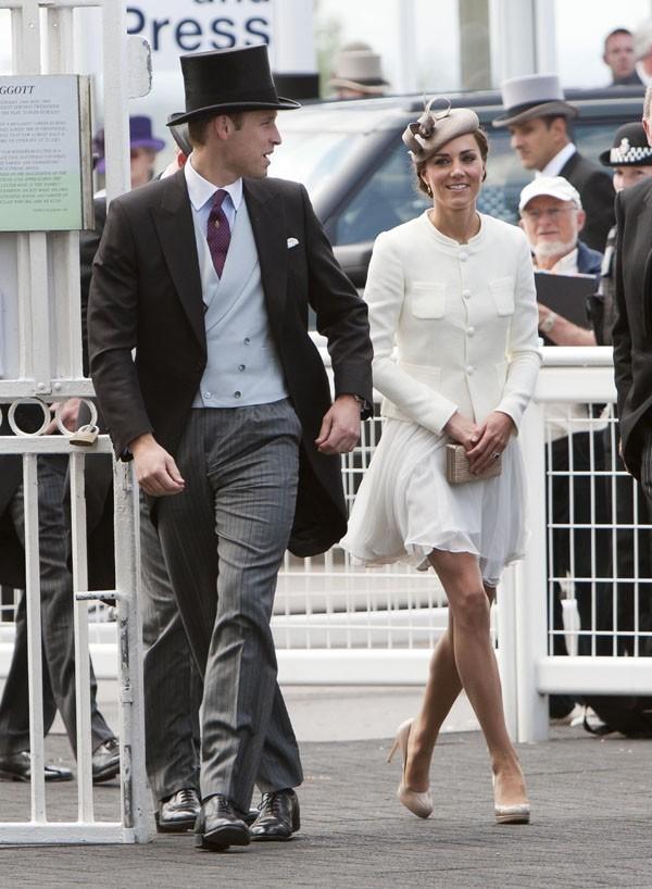 Avec le Prince William, leur première sortie officielle