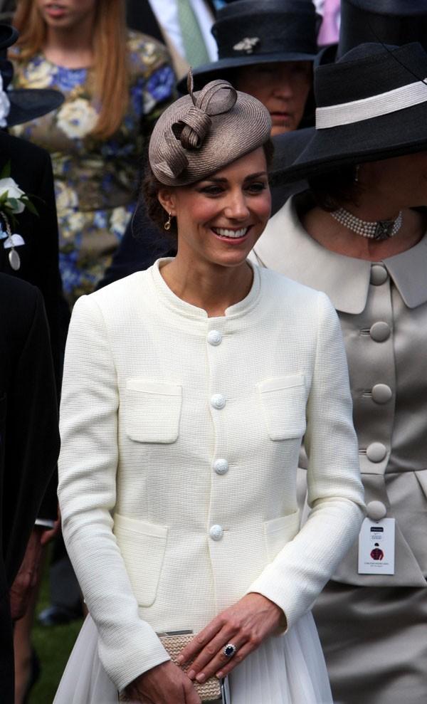 Kate Middleton n'a pas arrêté de sourire !