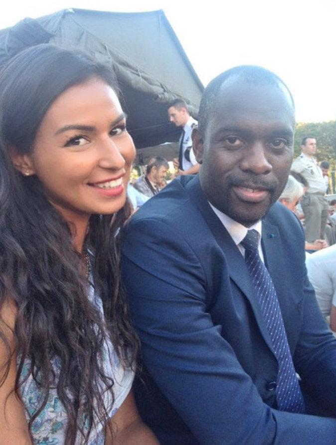 Karima de Koh Lanta et Pascal Gentil assistent au match