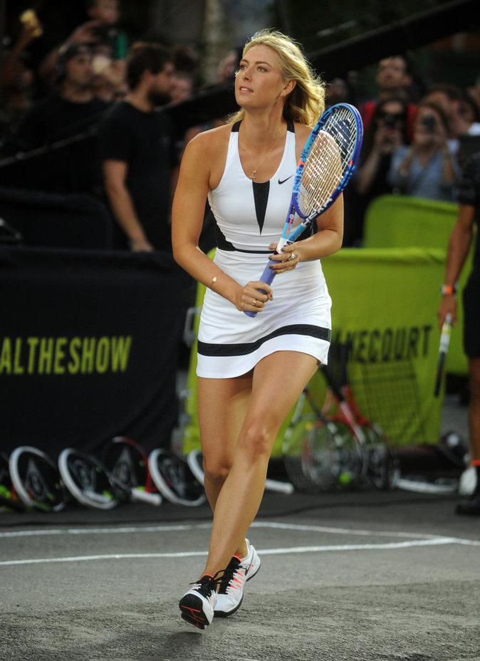 Maria Sharapova : Après sa suspension pour dopage, elle fait son grand retour sur les courts