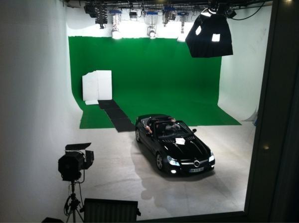 Sur le tournage