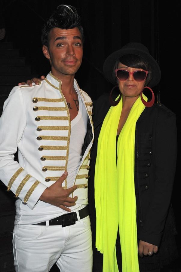 Bruno avec Laam à la soirée Française des Jeux