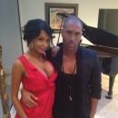 Nabilla et Sofiane sur le tournage de Dingue de toi !