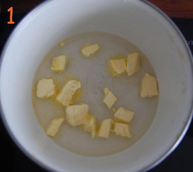 Les choux à la crème de crabe de Cyril Rouquet : étape 1
