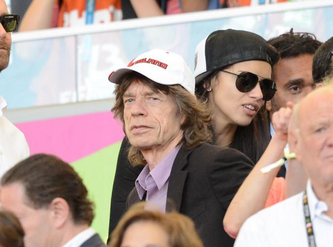 Mick Jagger à Rio de Janeiro le 13 juillet 2014