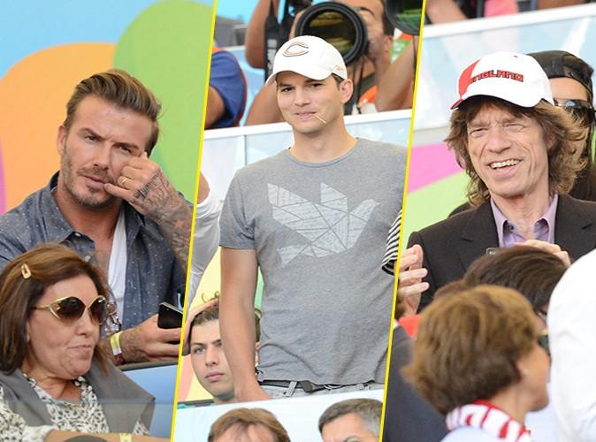 Photos : Mondial 2014 : David Beckham, Ashton Kutcher, Mick Jagger : pluie de stars pour la finale !