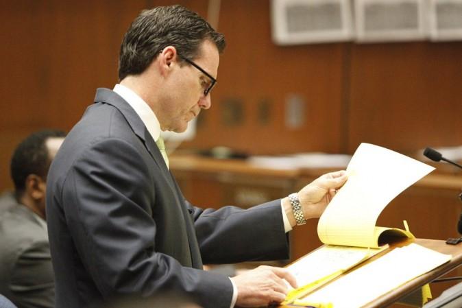 Edward Chernoff, l'avocat de la défense