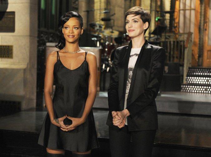 Anne Hathaway et Rihanna dans le remake 100% féminin d'Ocean's Eleven :
