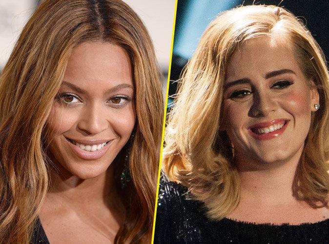 Beyonc� : la star intimid�e par Adele !