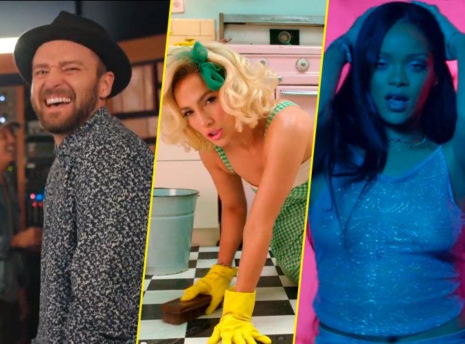 Vid�os : Justin Timberlake, JLo, Rihanna : les 15 tubes qui vont rythmer votre �t� !