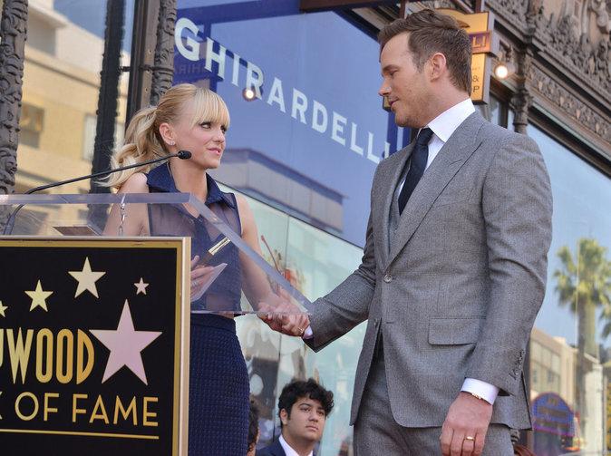 Chris Pratt, ému devant sa femme Anna Faris