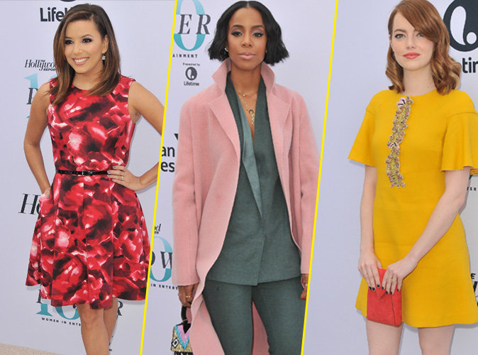 Eva Longoria, Kelly Rowland, Emma Stone... ces stars féminines qui prennent le pouvoir au 25th annual Women in Entertainment Breakfast
