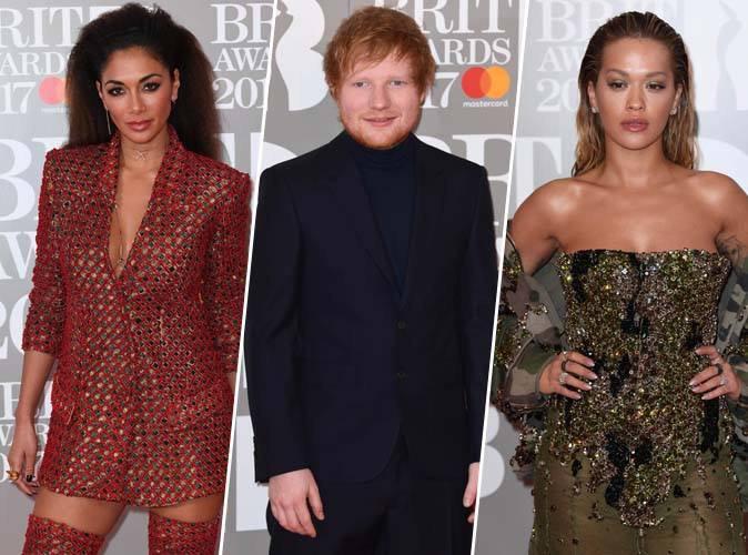Nicole Scherzinger, Ed Sheeran, Rita Ora... se distinguent lors des Brit Awards 2017