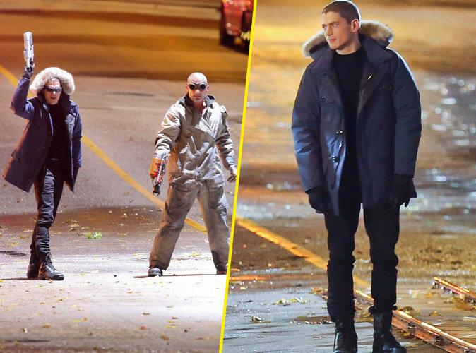 """Photos : Wentworth Miller et Dominic Purcell, les nouveaux super-héros de """"Legends of Tomorrow"""""""