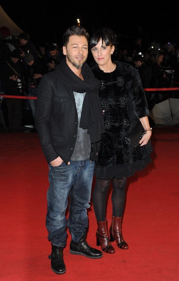 Christophe Maé et son épouse