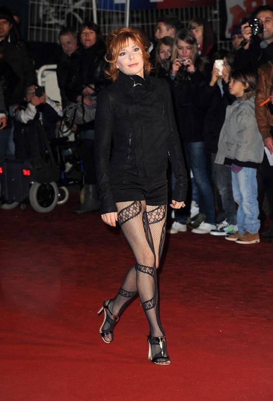 Mylène Farmer sur le tapis rouge des NRJ Music Awards !