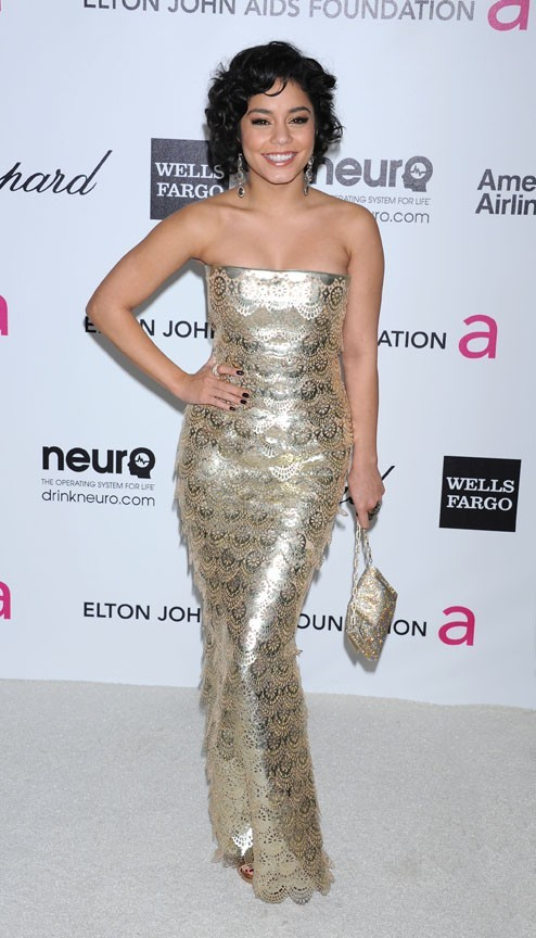 Vanessa Hudgens à l'after-party des Oscars d'Elton John !