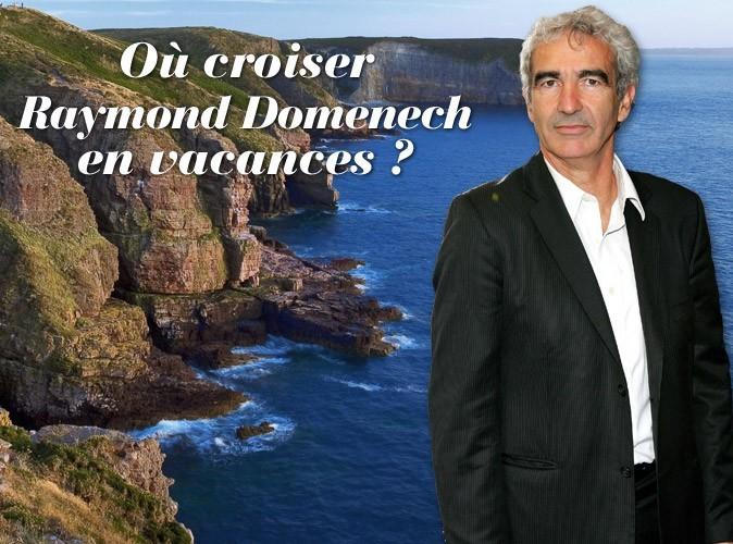Raymond Domenech : vacances en Bretagne avec Estelle Denis !