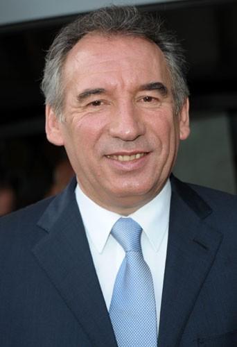 Le candidat du MoDem à l'élection présidentielle de 2012, François Bayrou