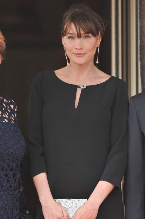 Sa femme Carla Bruni