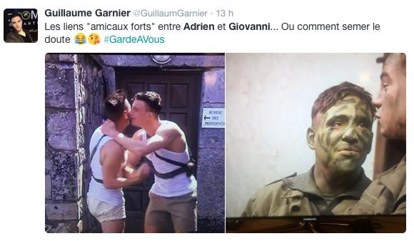 Public Buzz : Garde à vous : La relation entre Adrien et Giovanni intrigue la Toile !