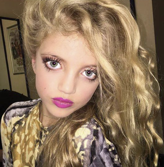 Public (bad) Buzz : La fille de Katie Price maquillée comme jamais, les internautes sont choqués !