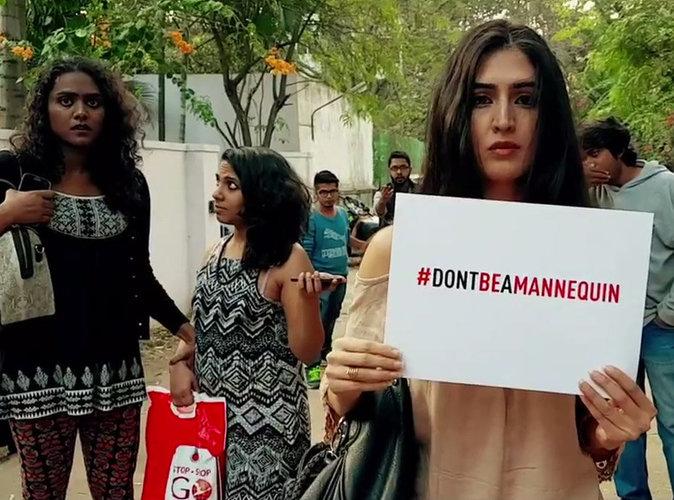 Public Buzz : Le Mannequin Challenge qui dénonce les violences faites aux femmes