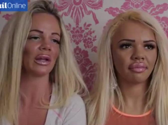 Public Buzz : mère et fille dépensent 76 000 euros pour ressembler à une Katie Price ratée...