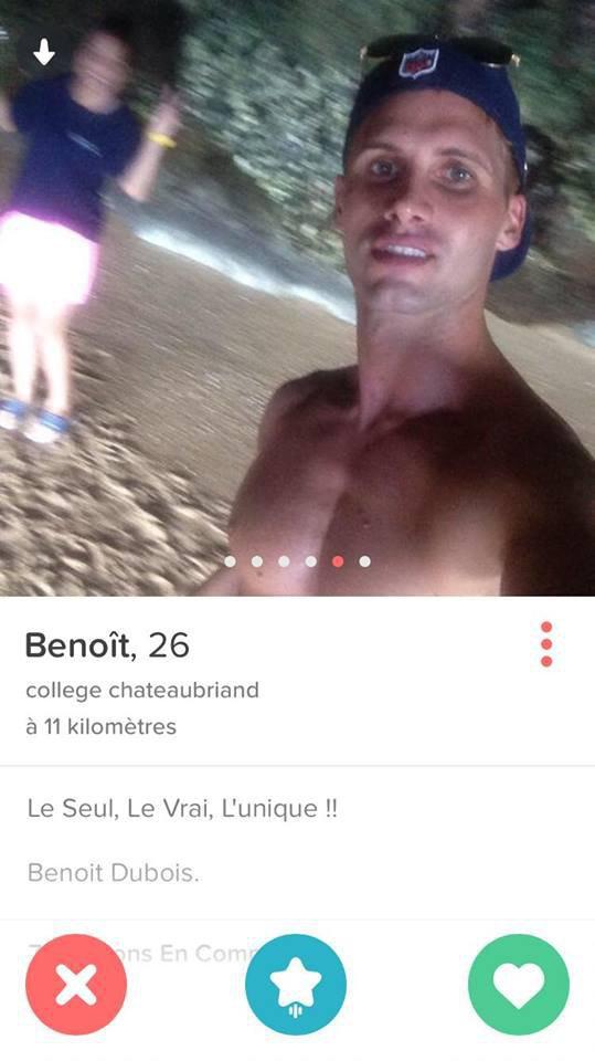 Public Buzz : Photos : Benoit Dubois célibataire, il cherche l'amour sur Tinder !