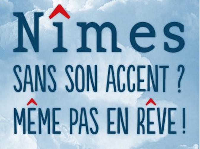 Public Buzz : Photos : La réforme de l'orthographe, la ville de Nîmes se rebelle !