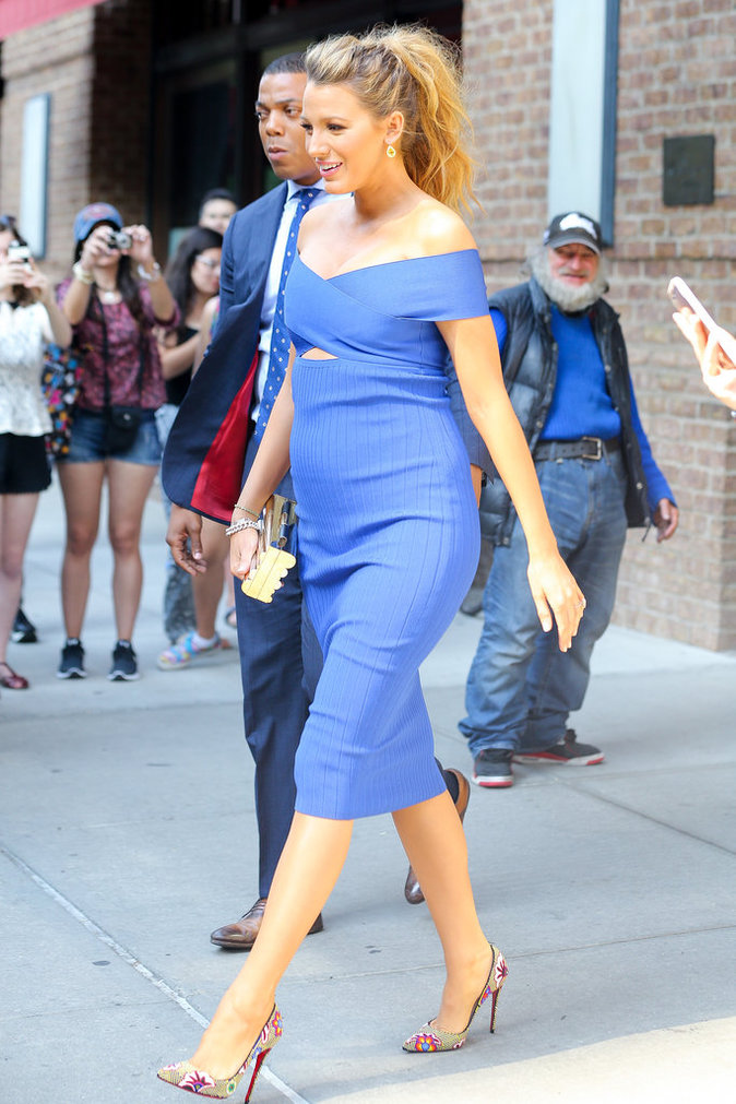 Blake Lively à New York le 20 juin 2016