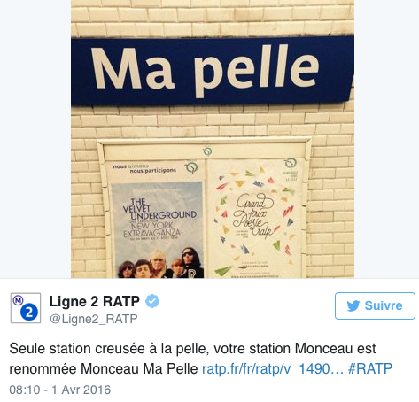 Public Buzz : Photos : 13 stations du métro parisien changent de nom !