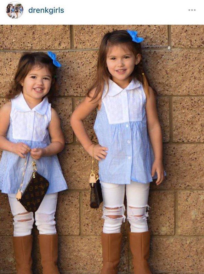 Public Buzz : Photos : A 3 ans, les deux sœurs se la jouent déjà Kylie et Kendall Jenner !