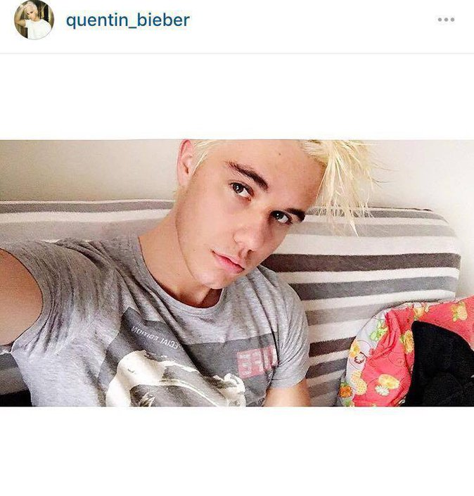 Public Buzz : Photos : Quentin Bieber, le sosie de Justin que les Beliebers adorent !