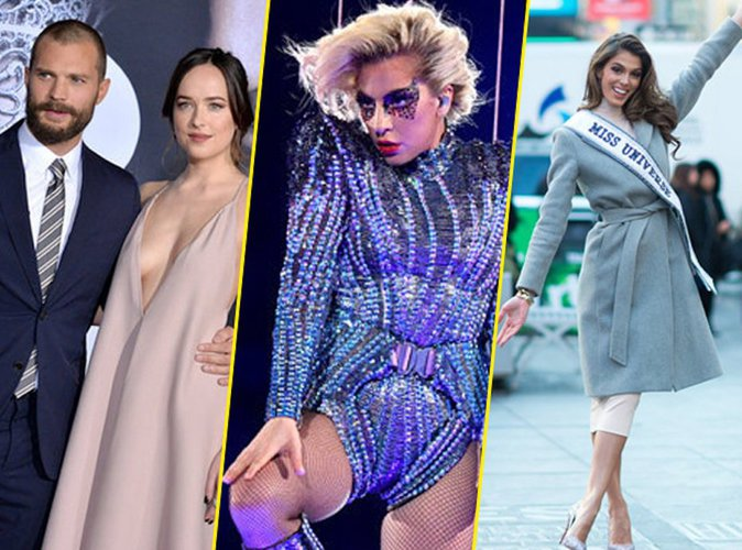 #Top10Public n°42 : Dakota Johnson et Jamie Dornan, Lady Gaga, Iris Mittenaere, les 10 photos marquantes de la semaine !